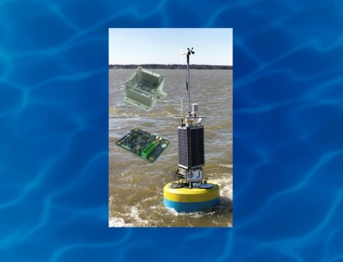 SVS-603 Wave Sensors Paired with NexSens Buoys for NOAA CBIBS Upgrade